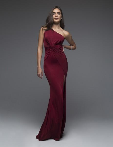 Scarlet Wine Red Dress