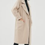 Button Oversized Coat