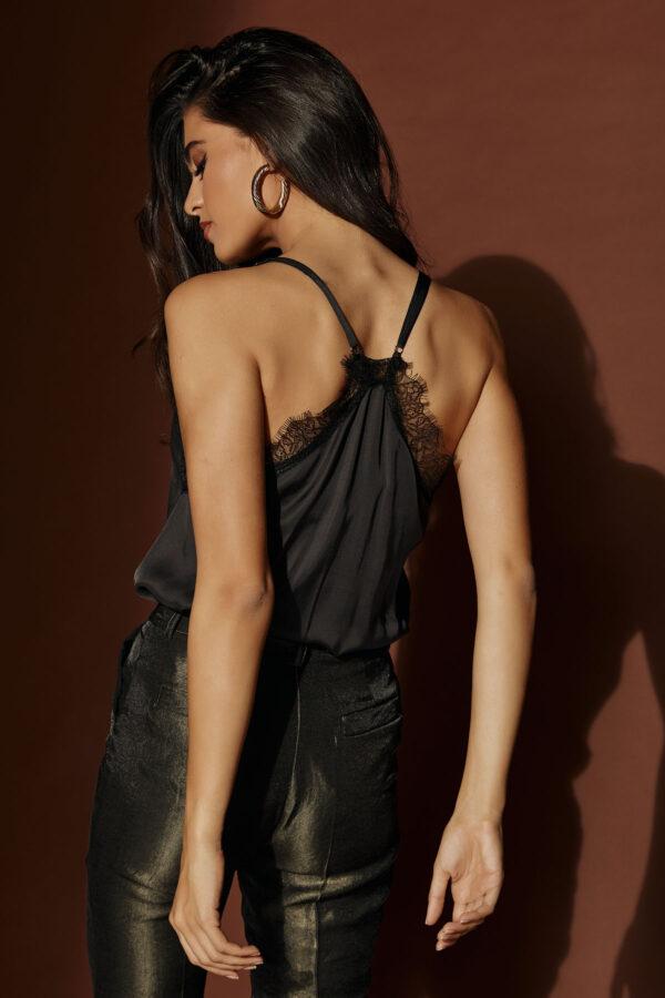 Black Lingerie Top