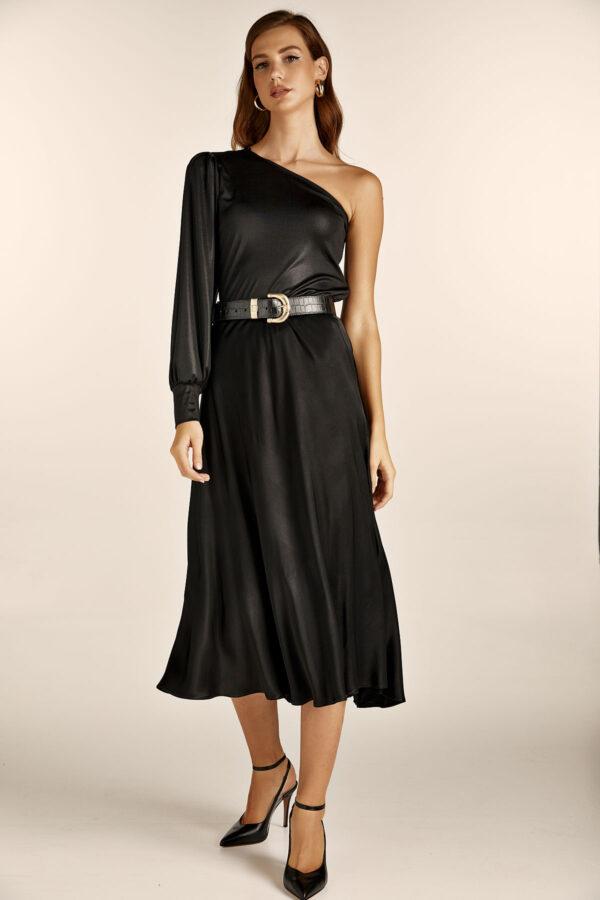 Black Slip Skirt