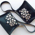 Blinding Lights Leather Bag