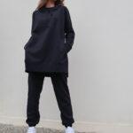 Sweater Jogger Pants – Black