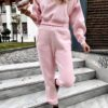 Space Sweater Set – Baby Pink