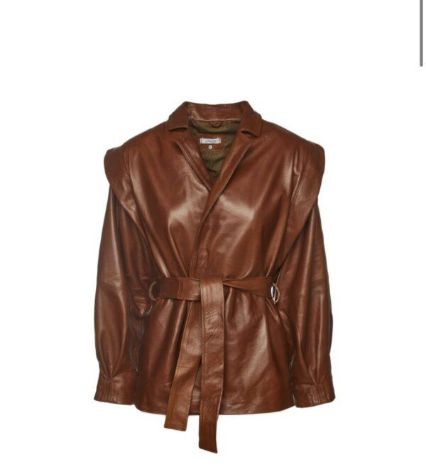 80's Leather Jacket – Tabac