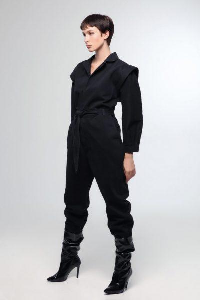 80's Jean Jumpsuit – Black
