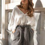 Tweed Highwaist Shorts
