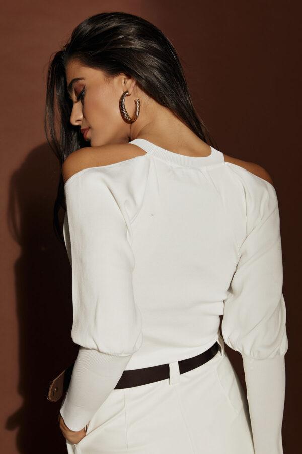 Off Shoulder Top – White
