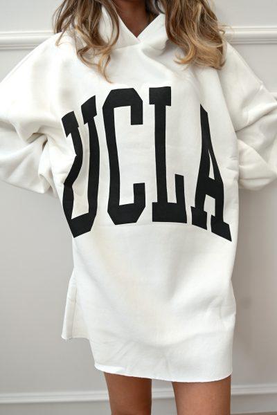 UCLA Oversized Sweater – White