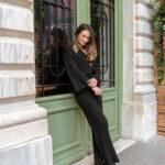 Sarah Knit Set – Black