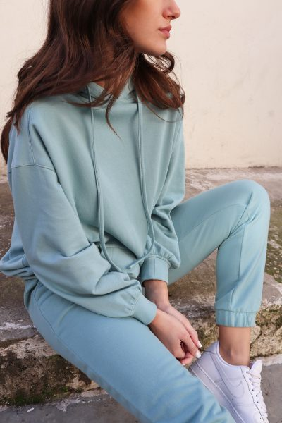 Oversized Hoodie – Mint