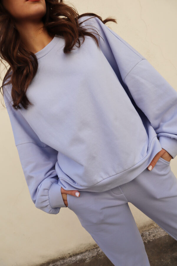 Oversized Sweater – Lilac
