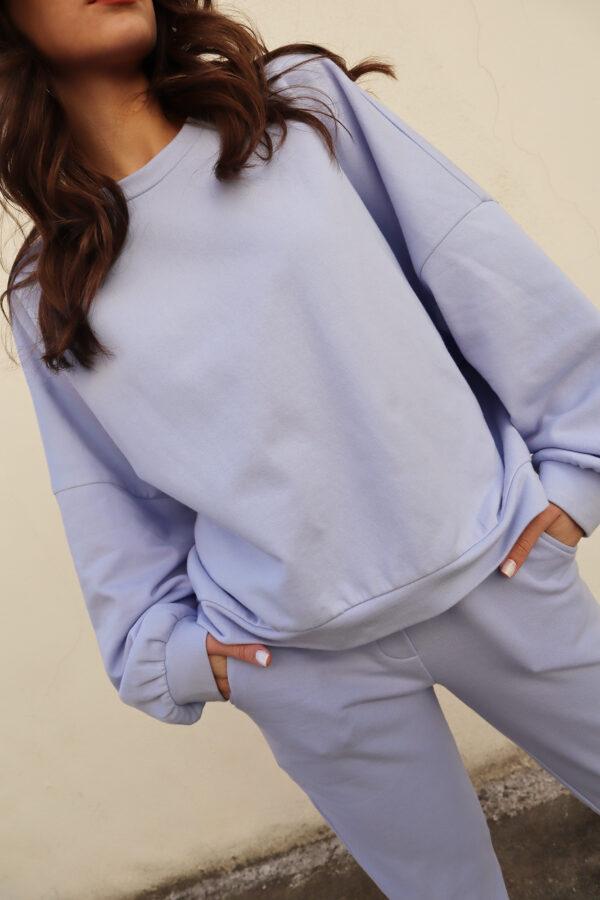Sweater Jogger Pants – Lilac