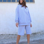 Oversized Hoodie – Lilac