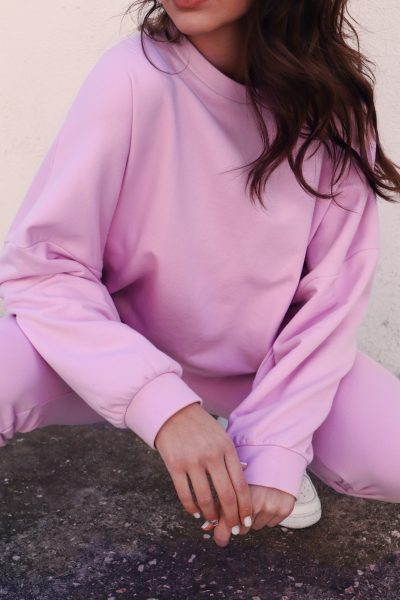 Oversized Sweater – Pink