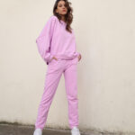 Sweater Jogger Pants – Pink