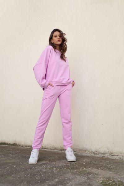 Sweater Jogger Pants – Pink