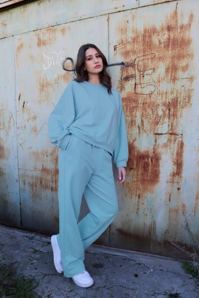 Sweater Loose Pants – Mint