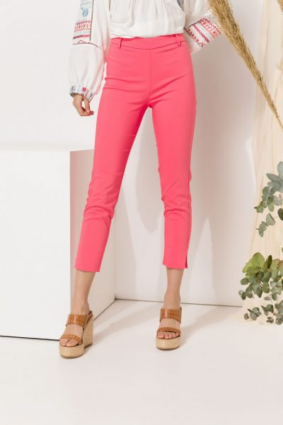 Coral Slim Fit Pants