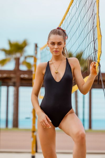 Jade Black One Piece